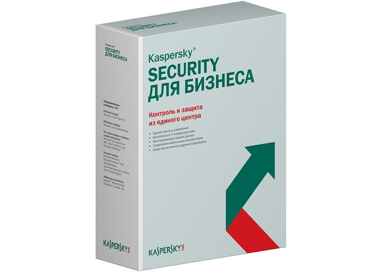 Антивирус Kaspersky Endpoint Security для бизнеса – Стандартный