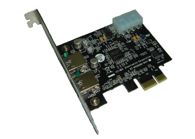 Контроллер  PCI-E USB 3.0 2-port NEC D720200F1