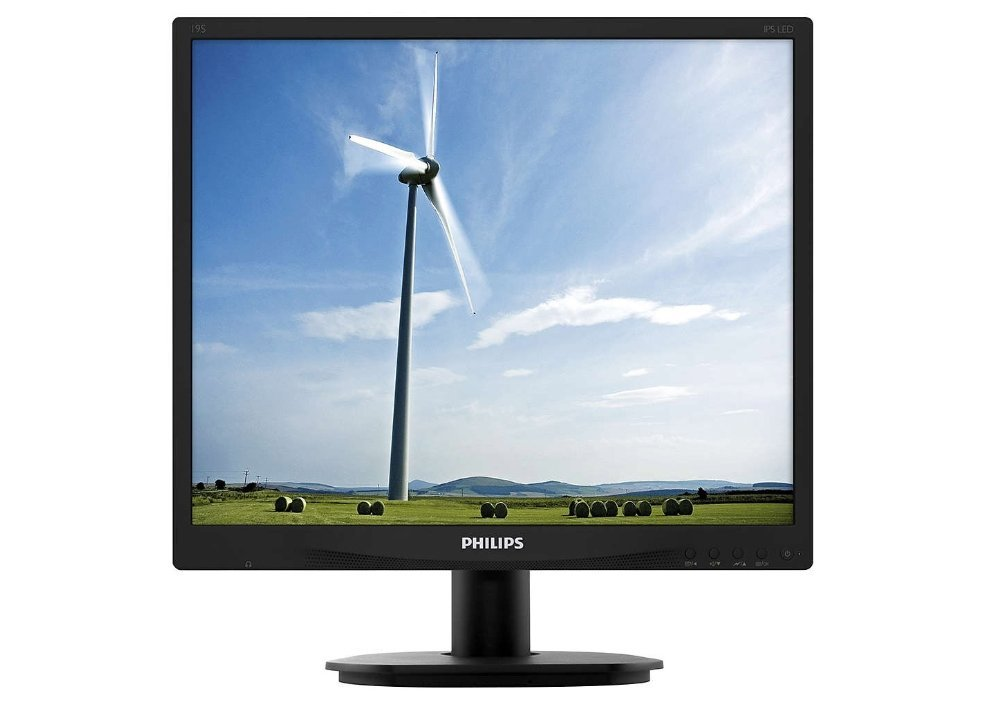 "Монитор Philips 19"" 19S4QAB 00/01 D-Sub/ DVI/ MM 1280x1024 черный"