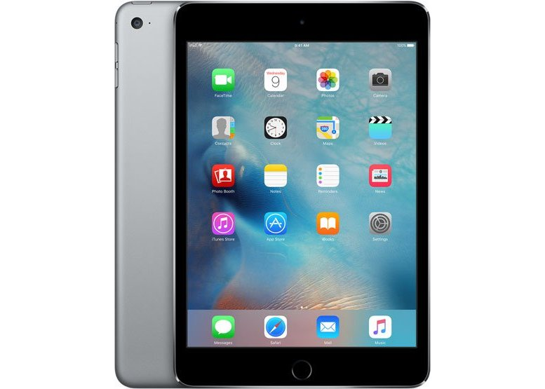 "Планшет Apple iPad mini 4 Wi-Fi + Cellular MK762RU/A Apple A8/ 128Гб/ WiFi/ BT/ 3G/4G/ GPS/ГЛОНАСС/ 2xWebCam/ 7.9"" 2048x1536/ iOS серый"