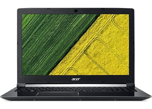 "Ноутбук Acer Aspire A717-71G-74BL NH.GTVER.006 Core i7 7700HQ-2.80ГГц/ 8Гб/ 128Гб+1ТБ/ GFGTX1050/ LAN/ WiFi/ BT/ WebCam/ 17.3"" 1920x1080/ W10 H черный"